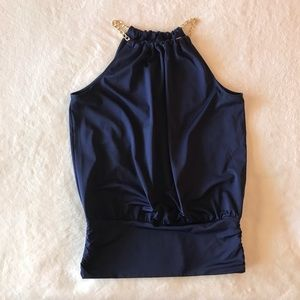 Lilly Pulitzer Bowen Top Navy